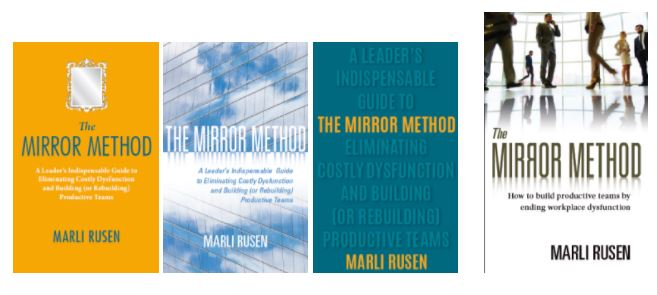 Marli Rusen, Book covers for the Mirror Method